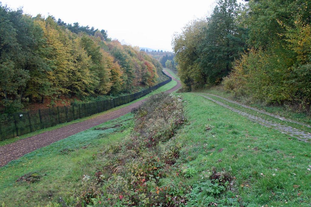 Innerdeutsche Grenze zwischen Thüringen und Hessen