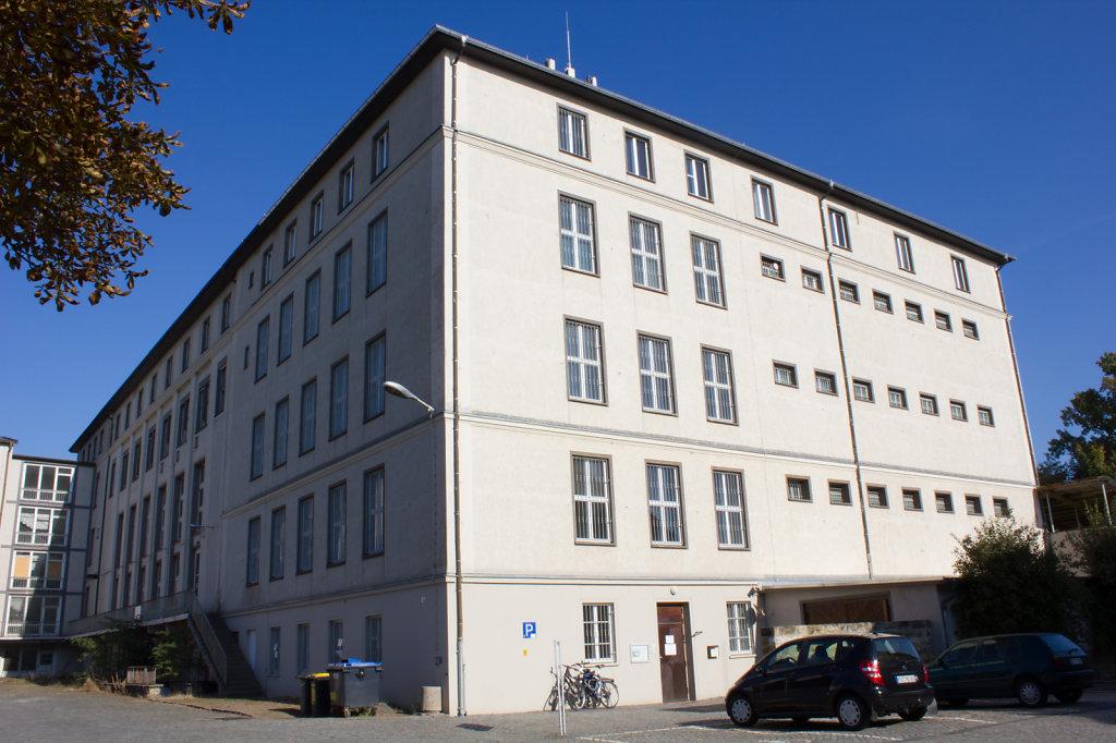 Gebäude der Gedenkstätte Bautzner Straße