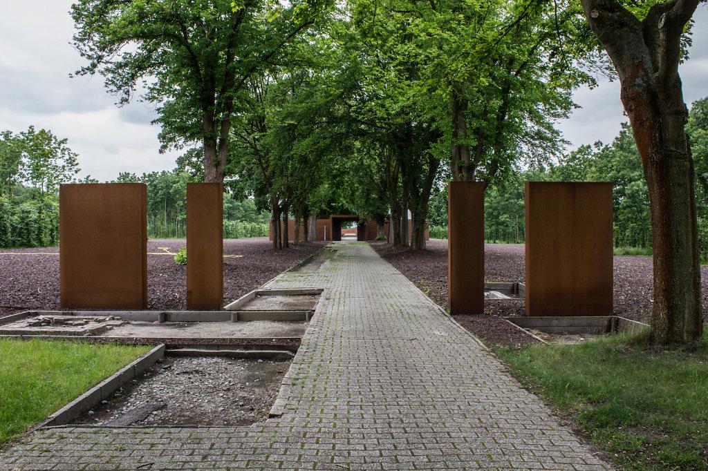 Innentor im Konzentrationslager Esterwegen