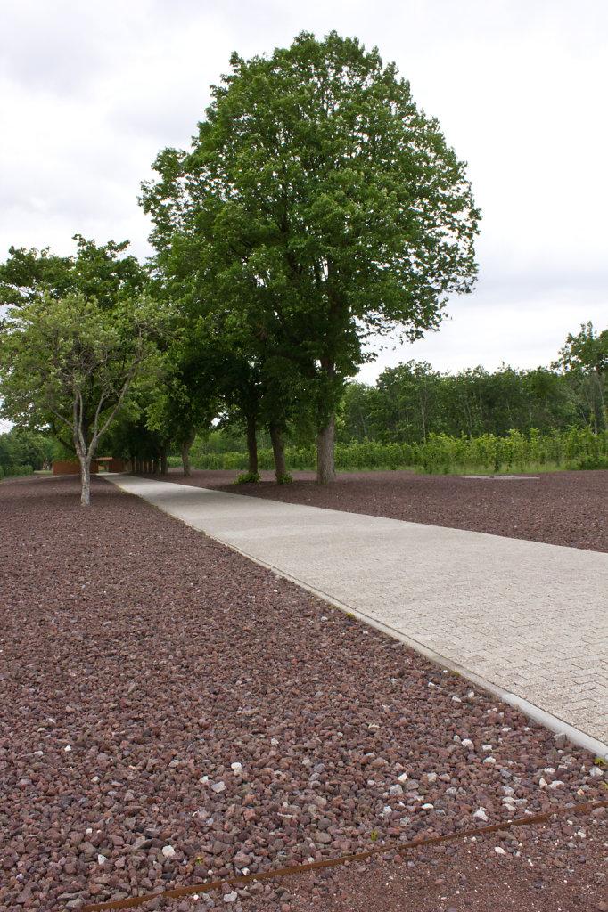 Hauptstraße des Konzentrationslagers Esterwegen